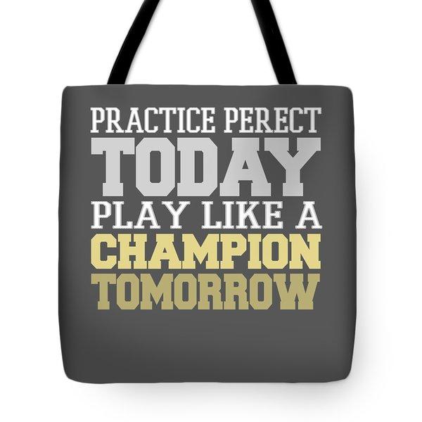Practice Perfect Tote Bag