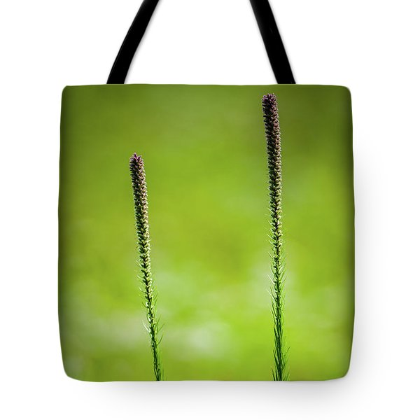 Prairie Blazing Star Tote Bag