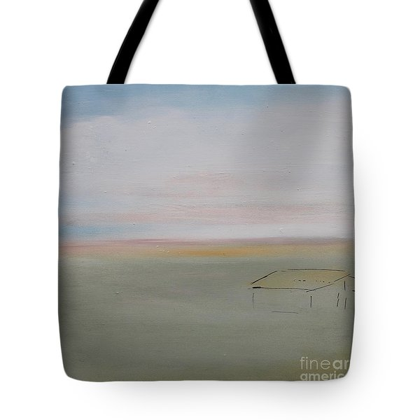 Tote Bag featuring the painting Prairie Home by Kim Nelson