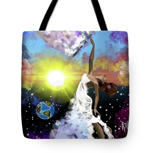 Prayer Before The Sun Sets Tote Bag