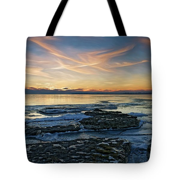 Preamble To Sunset Tote Bag