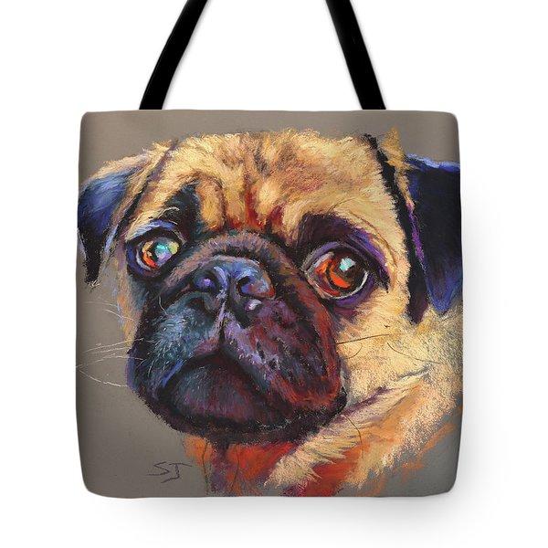 Precious Pug Tote Bag