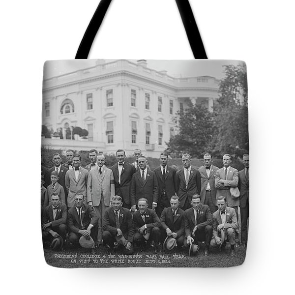 President Coolidge & The Worlds Tote Bag