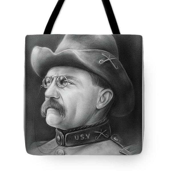 President Teddy Roosevelt Tote Bag