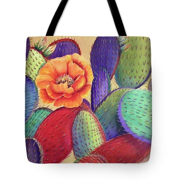 Prickly Rose Garden Tote Bag