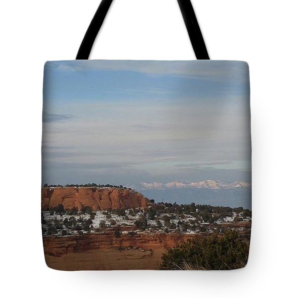 Pride Mountain Tote Bag