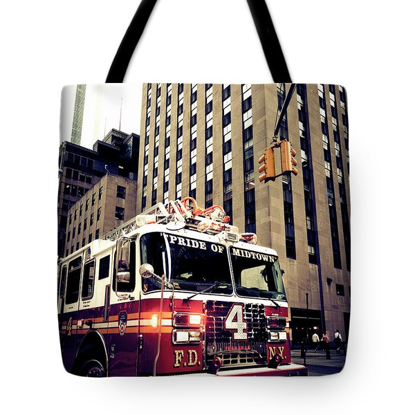 Pride Of Midtown Tote Bag