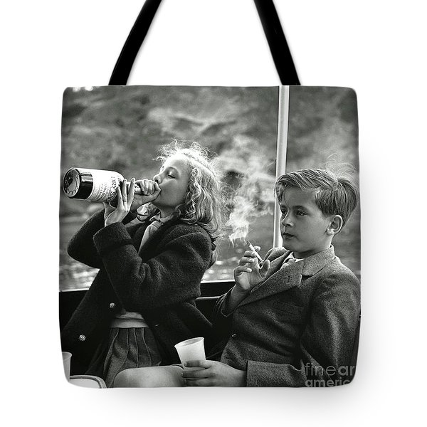 Princess Yvonne And Prince Alexander Of Sayn Wittgenstein Sayn Tote Bag