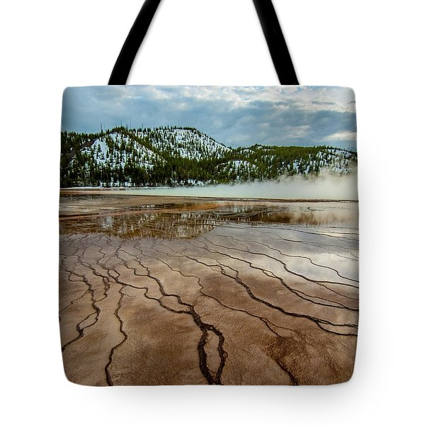 Tote Bag featuring the photograph Prismatic Spring No. 2 by Matthew Irvin