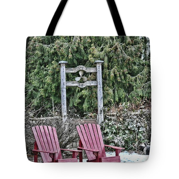 Prop Chairs Tote Bag