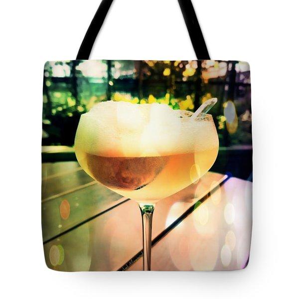 Prosecco Float Tote Bag