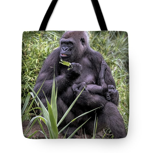Proud Mama Silverback 6243 Tote Bag