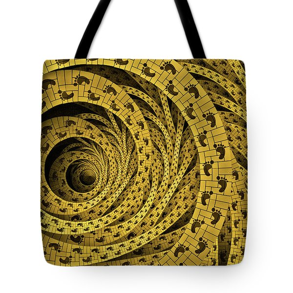 Tote Bag featuring the digital art Proverbs by Missy Gainer