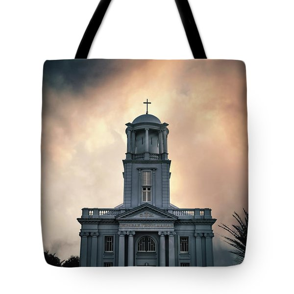 Psalm Before The Storm Tote Bag