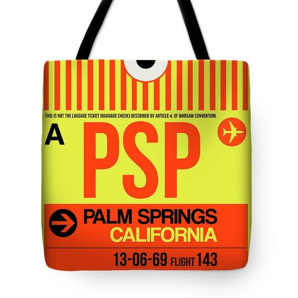 Psp Palm Springs Luggage Tag I Tote Bag