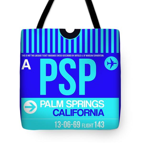 Psp Palm Springs Luggage Tag II Tote Bag