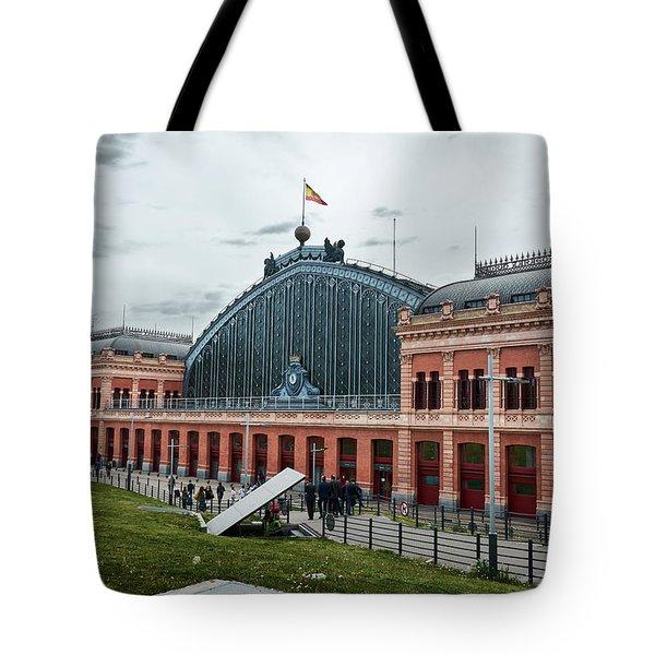 Puerta De Atocha Railway Station Tote Bag