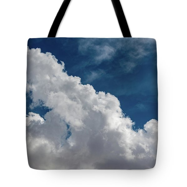 Puffy White Clouds Tote Bag