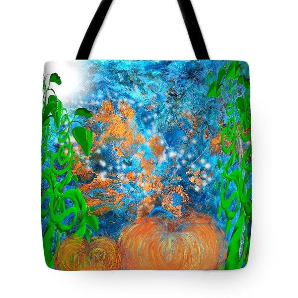 Pumpkin Patch Tote Bag