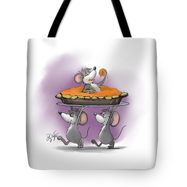 Pumpkin Pie Celebration Tote Bag
