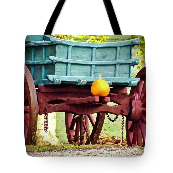 Tote Bag featuring the photograph Pumpkin Trail Mix by Don Moore