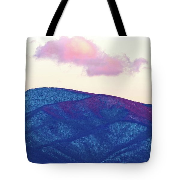 Purple And Blue Ridge Tote Bag
