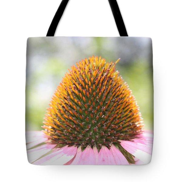 Purple Coneflower Seeds Tote Bag