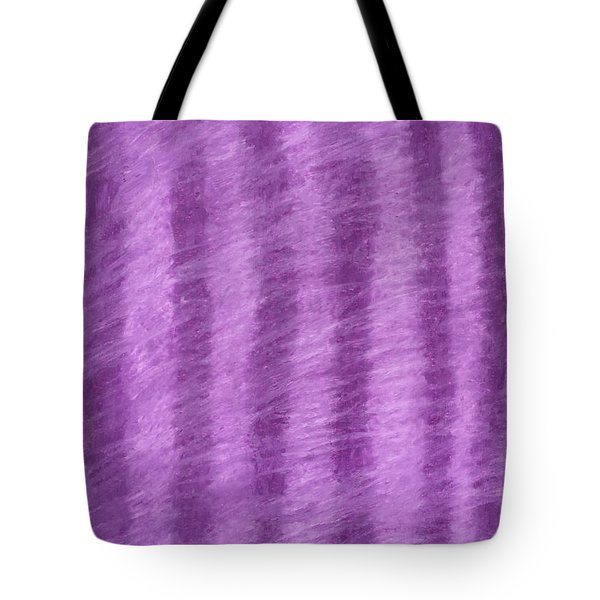 Purple Hazy Nights Tote Bag