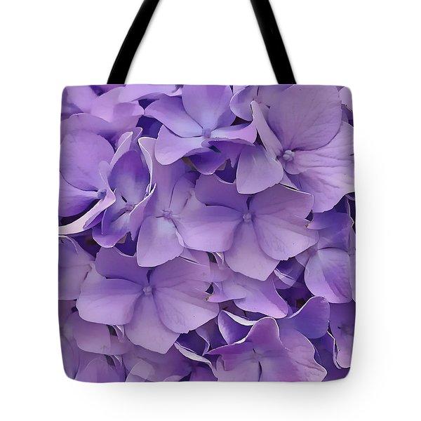 Purple Hydrangea  Tote Bag