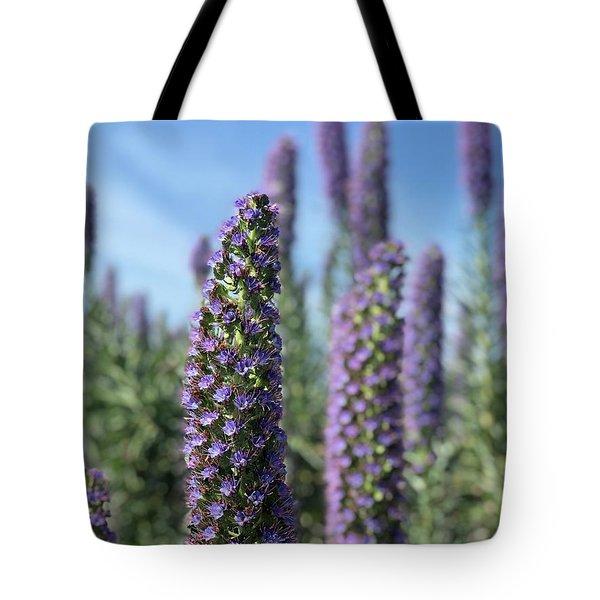 Purple Hyssop  Tote Bag