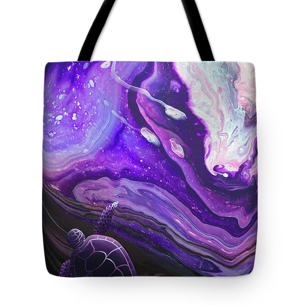 Purple Munchkin Tote Bag