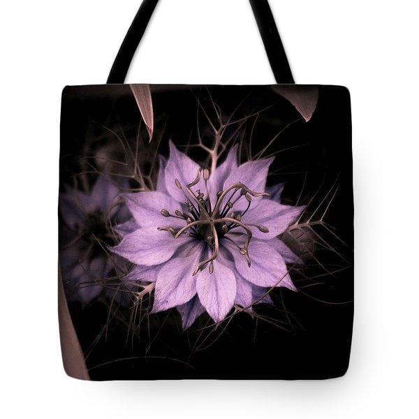 Purple Peculiarity Tote Bag