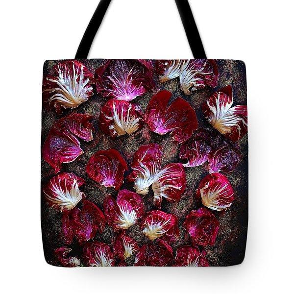 Purple Radicchio Tote Bag