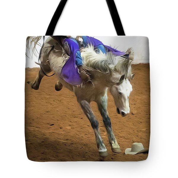 Purple Rein Tote Bag