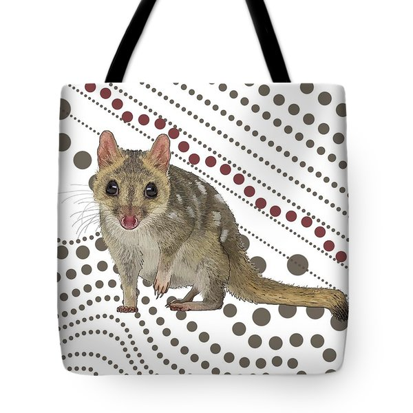 Q Is For Quoll Tote Bag