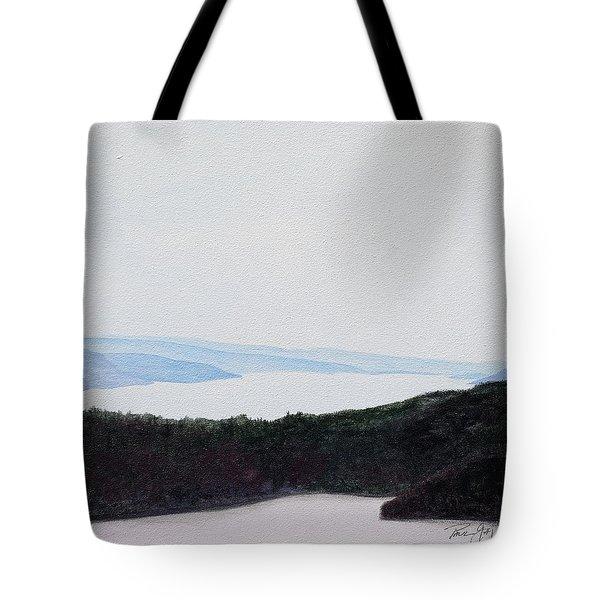 Quabbin Looking North Tote Bag