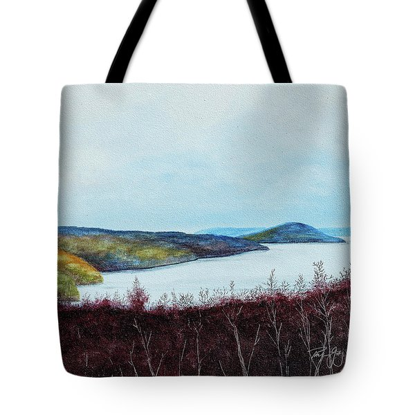 Quabbin Reservoir Tote Bag