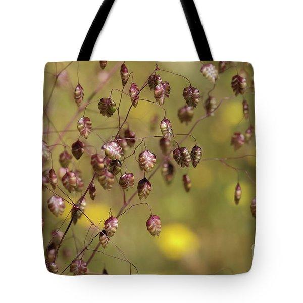 Quaking Grass Tote Bag