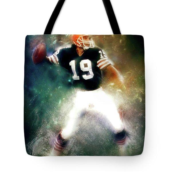 Quarterback Bernie Kosar Tote Bag