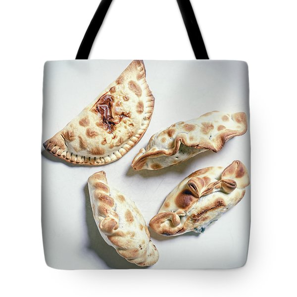 Quatro Empanadas Tote Bag
