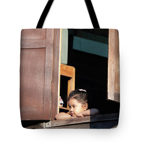 Tote Bag featuring the photograph Que Sera Sera by Jeremy Holton
