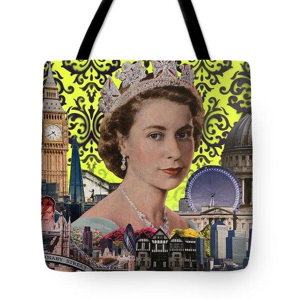 Queen, 2015, (mixed Media) Tote Bag