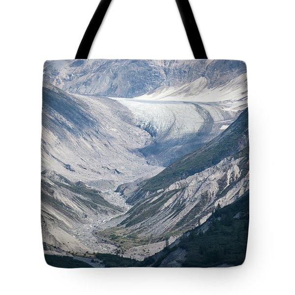Queen Inlet Glacier Tote Bag