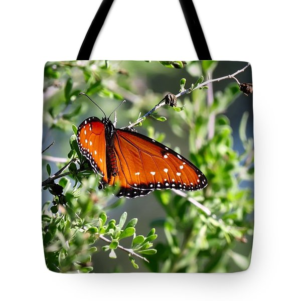 Queen On Creosote Tote Bag