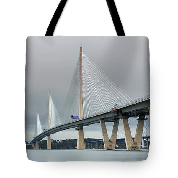 Queensferry Crossing Bridge 3-1 Tote Bag