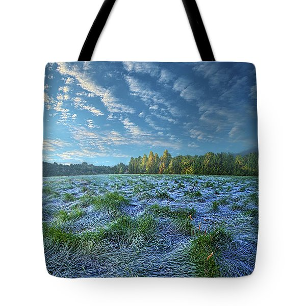 Tote Bag featuring the photograph Quiet Grace by Phil Koch