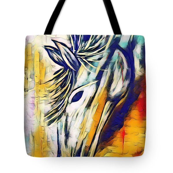 Tote Bag featuring the mixed media Quiet Strength by Jessica Eli