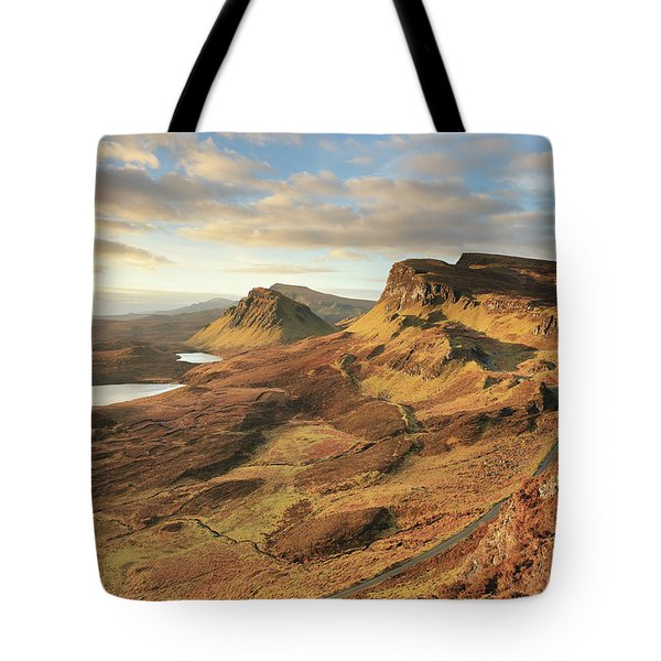 Quiraing Morning Light - Isle Of Skye Tote Bag