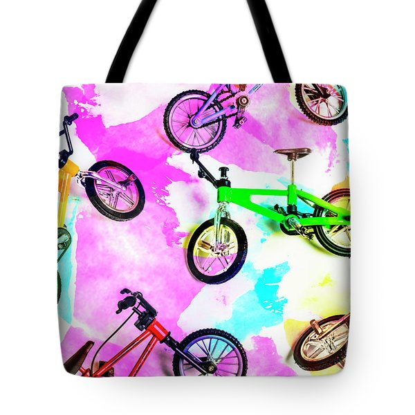 Racing Colours Tote Bag