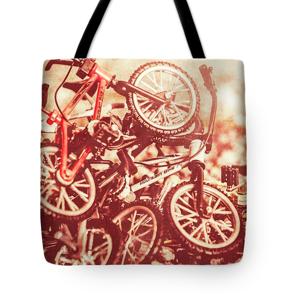 Racing Competition Tote Bag